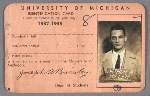 where did arthur miller go to college
