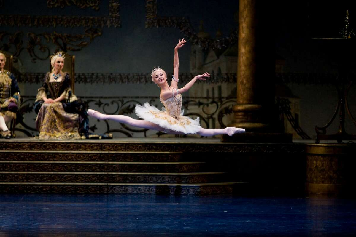 """Yuan Yuan Tan as Princess Aurora in """"The Sleeping Beauty,"""" which opens S.F. Ballet�s season on a fairytale note. Photo: Erik Tomasson"""