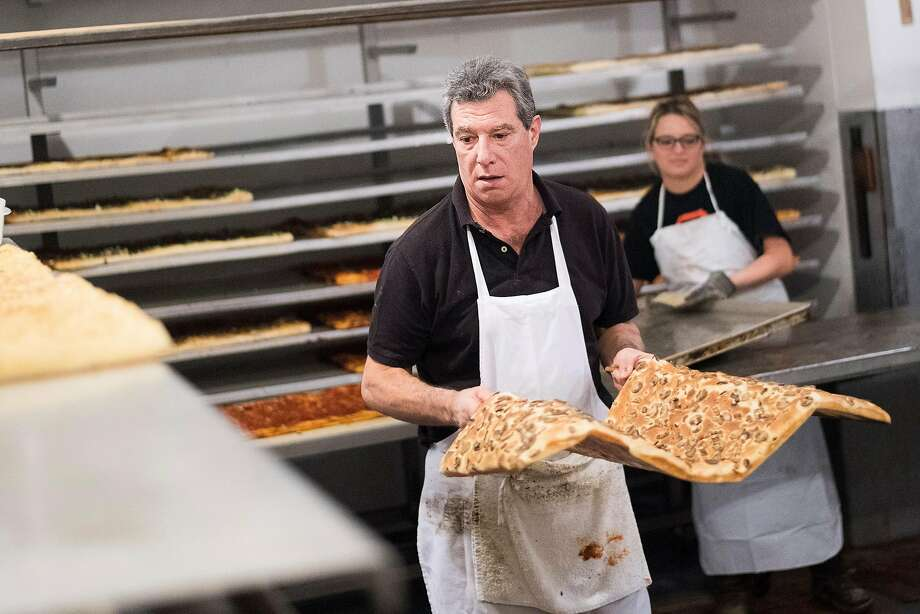 Michael Soracco, whose grandfather started the bakery. Photo: Noah Berger, Special To The Chronicle