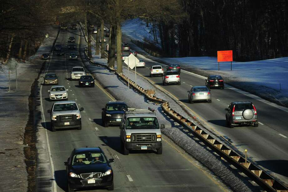 A stretch of the Merritt Parkway at the West Rocks Road overpass Wednesday, January 10, 2018, that will forego upgrades for the time being in Norwalk, Conn. Governor Dannel P. Malloy and Connecticut Department of Transportation (CTDOT) Commissioner James P. Redeker today released a full list of projects totaling $4.3 billion that are postponed indefinitely until new revenue is appropriated for the Special Transportation Fund (STF). The Governor made clear that his administration will announce detailed proposals this month that, if adopted by the General Assembly, would bring the projects back online. Photo: Erik Trautmann / Hearst Connecticut Media / Norwalk Hour