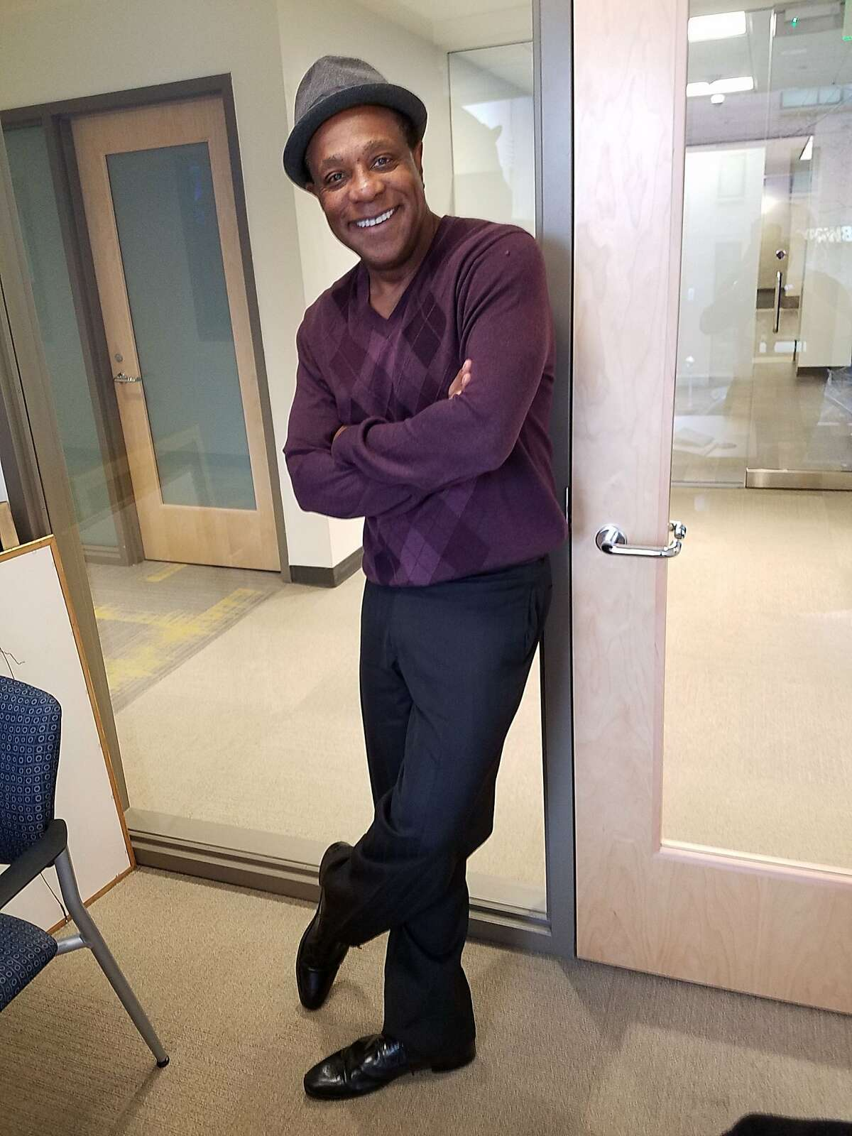 Talk-show host, comedian and performer of a one-man show, Brian Copeland