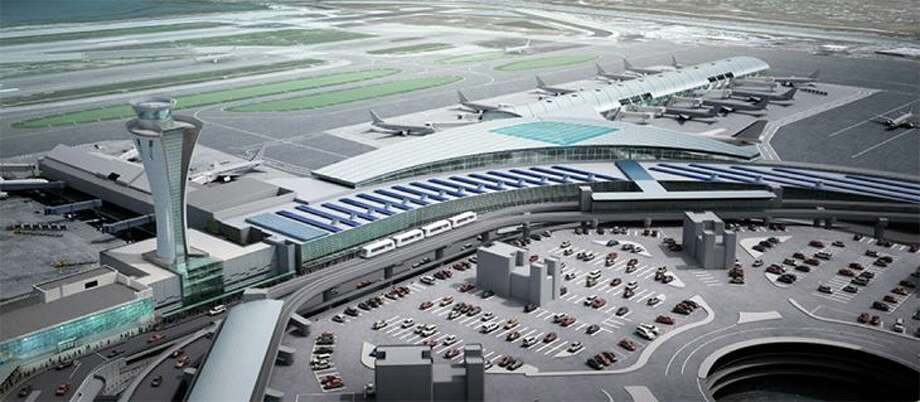 United Hawaiian and Frontier add new Bay Area flights. Pictured: A vision of what SFO's Terminal 1 will look like when complete Photo: San Francisco International
