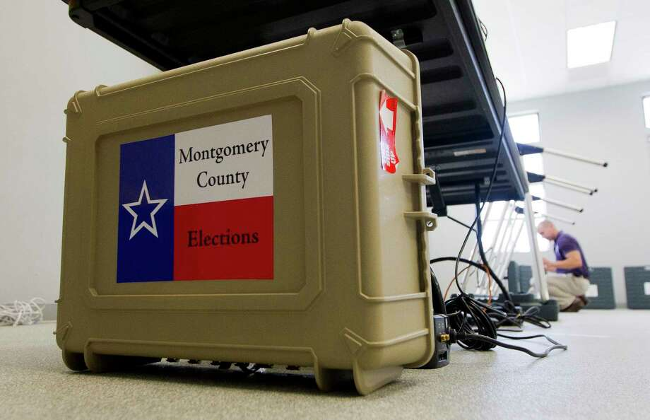 The Liberty Belles Republican Women and the Montgomery County Eagle Forum will each host candidate forums Thursday. Photo: Jason Fochtman, Staff Photographer / © 2017 Houston Chronicle