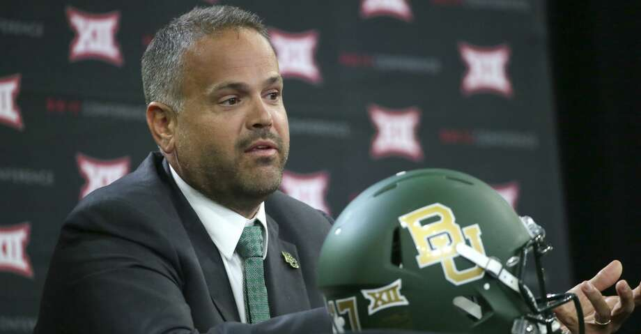 Matt Rhule interviewed with the Colts for the head coaching position vacated by the departure of Chuck Pagano. Photo: LM Otero/Associated Press