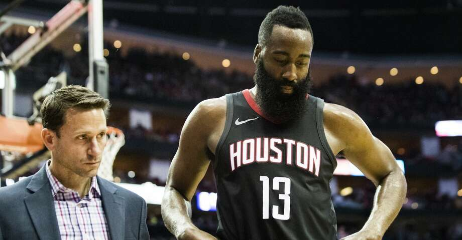 PHOTOS: Rockets game-by-gameRockets guard James Harden did some shooting after his team's shootaround on Wednesday, though his return from a strained hamstring is not considered imminent.Browse through the photos to see how the Rockets have fared through each game this season. Photo: Marie D. De Jesus/Houston Chronicle