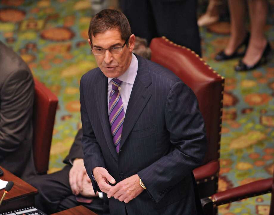 Senator Jeff Klein speaks during session in the senate chamber at the New York State Capitol on Tuesday, May 5, 2015 in Albany, N.Y.  (Lori Van Buren / Times Union) Photo: Lori Van Buren