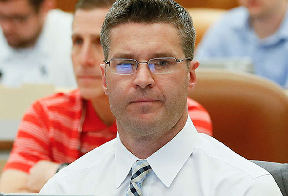 Brian Gaine, former Texans executive, Photo: Associated Press