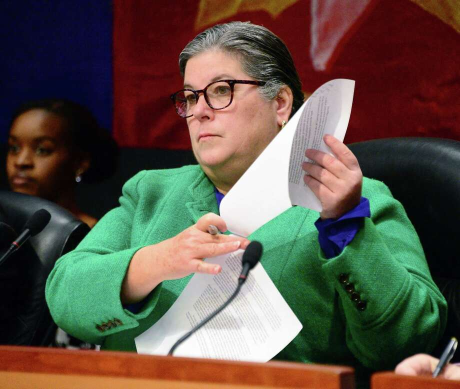 Assemblywoman Carrie Woerner is championing an agriculture and rural jobs tax credit. (John Carl D'Annibale/Times Union) Photo: John Carl D'Annibale / 20042623A
