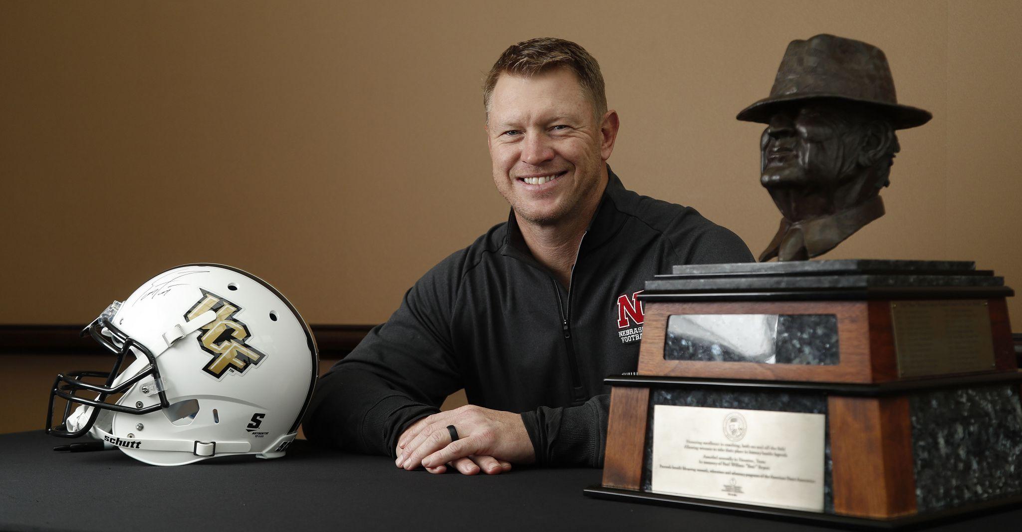 Scott Frost Nfl Stats >> Scott Frost wins Bear Bryant Coach of the Year Award - San Antonio Express-News