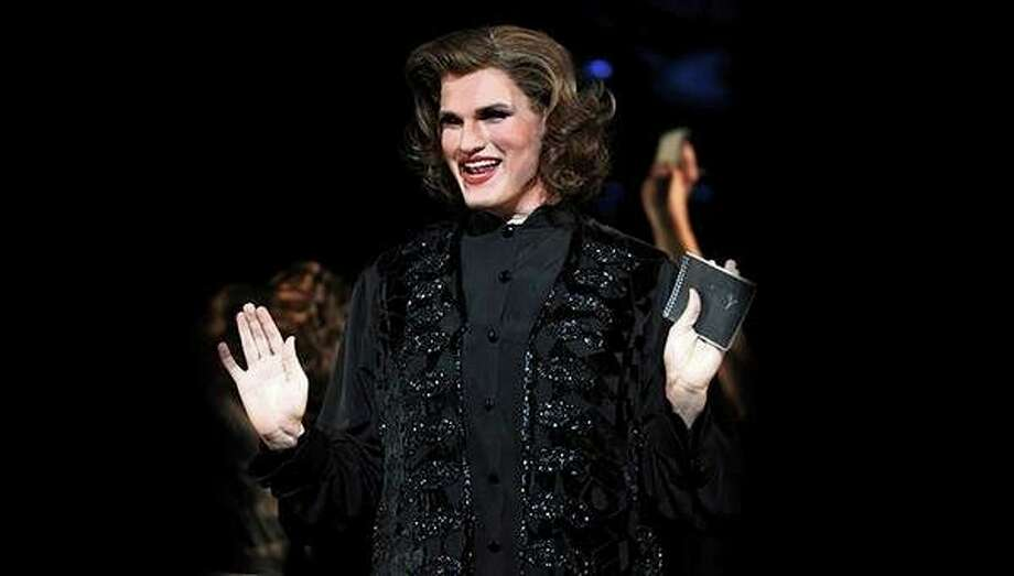 Bay City native Dylan Ratell performs as Mary Sunshine in 'Chicago, the Musical.' (Photo provided by Dylan Ratell)