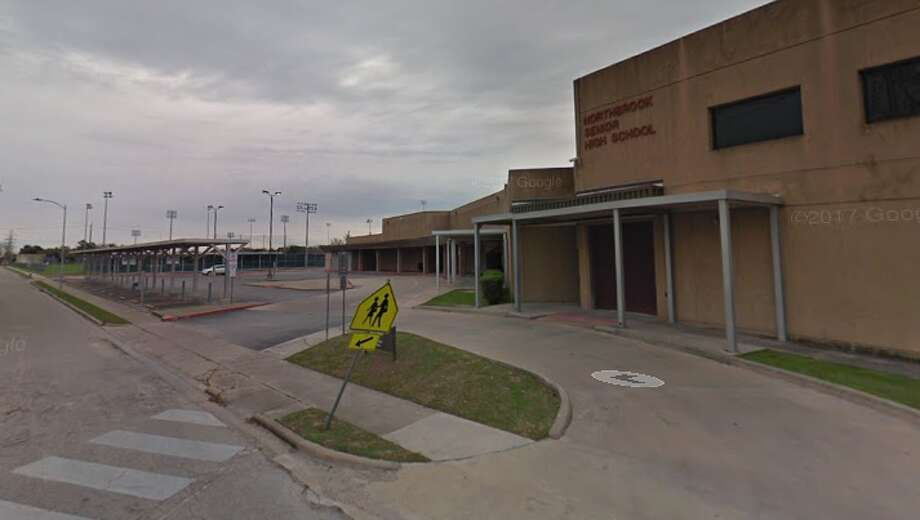 A screenshot of a Google Maps image of Northbrook High School