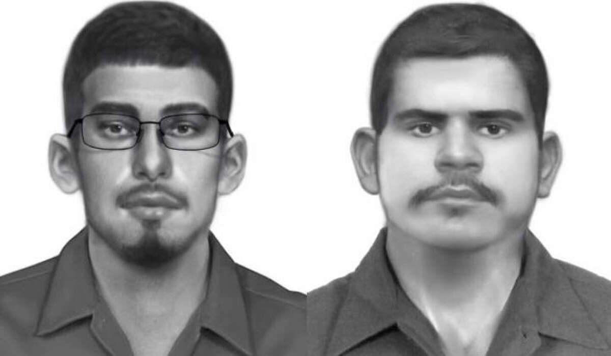 Harris County constables are searching for two men allegedly connected to a string of tire and rim thefts around Harris County.
