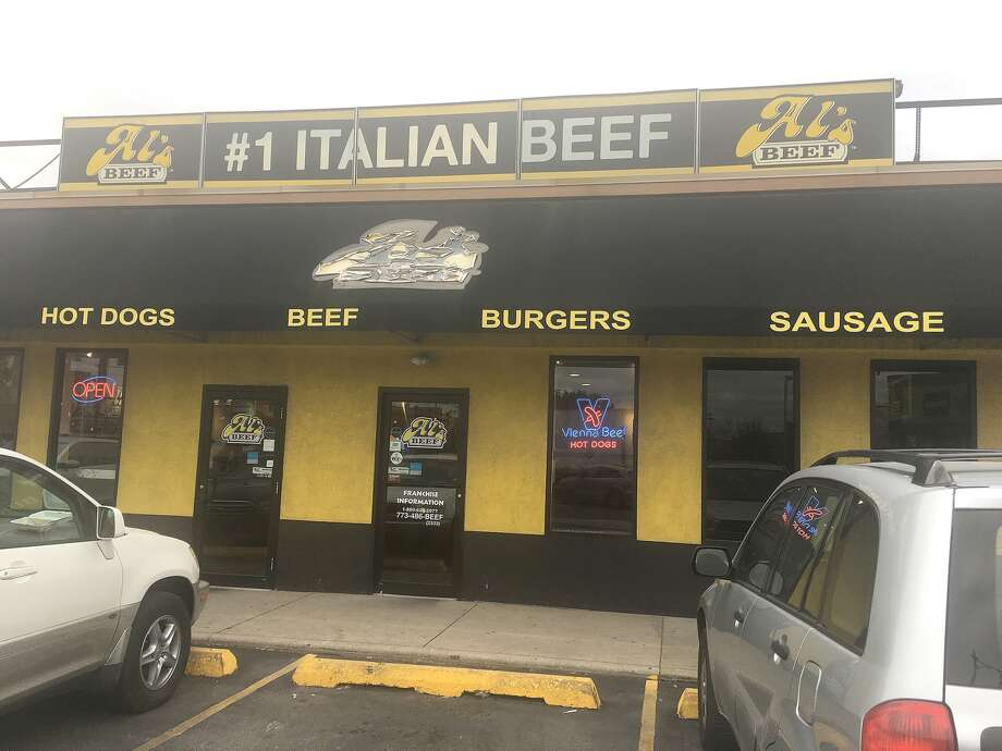 The entrance to Al's Italian Beef located at 2804 N. Western Ave. in Chicago. Photo: Bill Roseberry • For The Edge