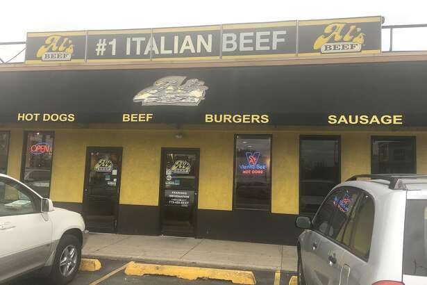 The entrance to Al's Italian Beef located at 2804 N. Western Ave. in Chicago.