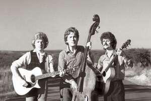 Uncle Walt's Band was DesChamps Hood (from left), David Ball and Walter Hyatt.