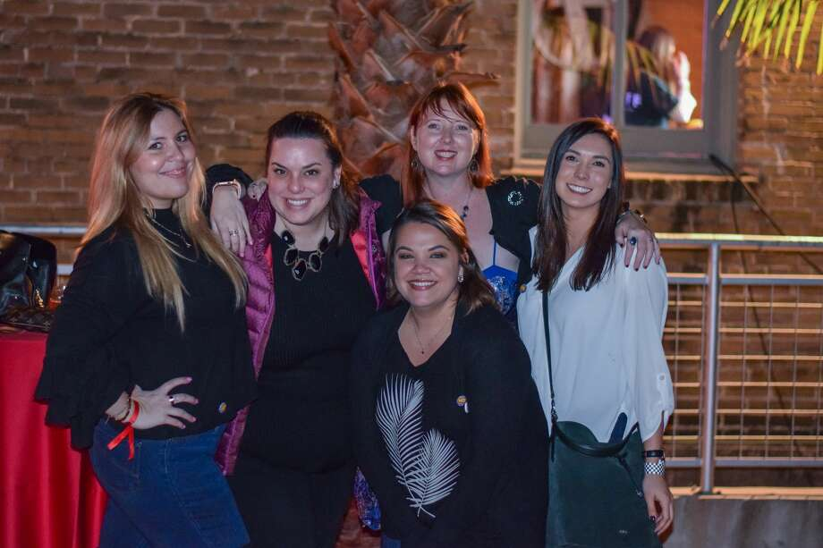 """Women ran the show at the """"Women Shaking It Up"""" event that helped kick off the San Antonio Cocktail Conference on Thursday, Jan. 10, 2018, at ZaZa Gardens. The night recognized women bartenders, chefs and general """"superheroes"""" in nontraditional roles. Photo: Kody Melton, For MySA.com"""