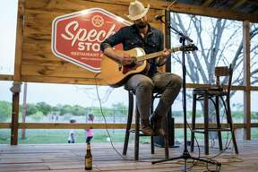 Singer Josh Grider plays a set at Specht's Store in San Antonio, Texas on Friday, March 24, 2017. Specht's reopened formally in July 2016 but they are hoping to bring in more customers this year.