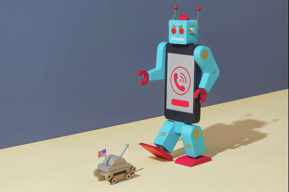 FTC robocall illustration Photo: For The Washington Post By Kyle Bean / For The Washington Post