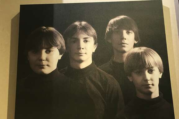 Smile: Beatles day at the photo studio.