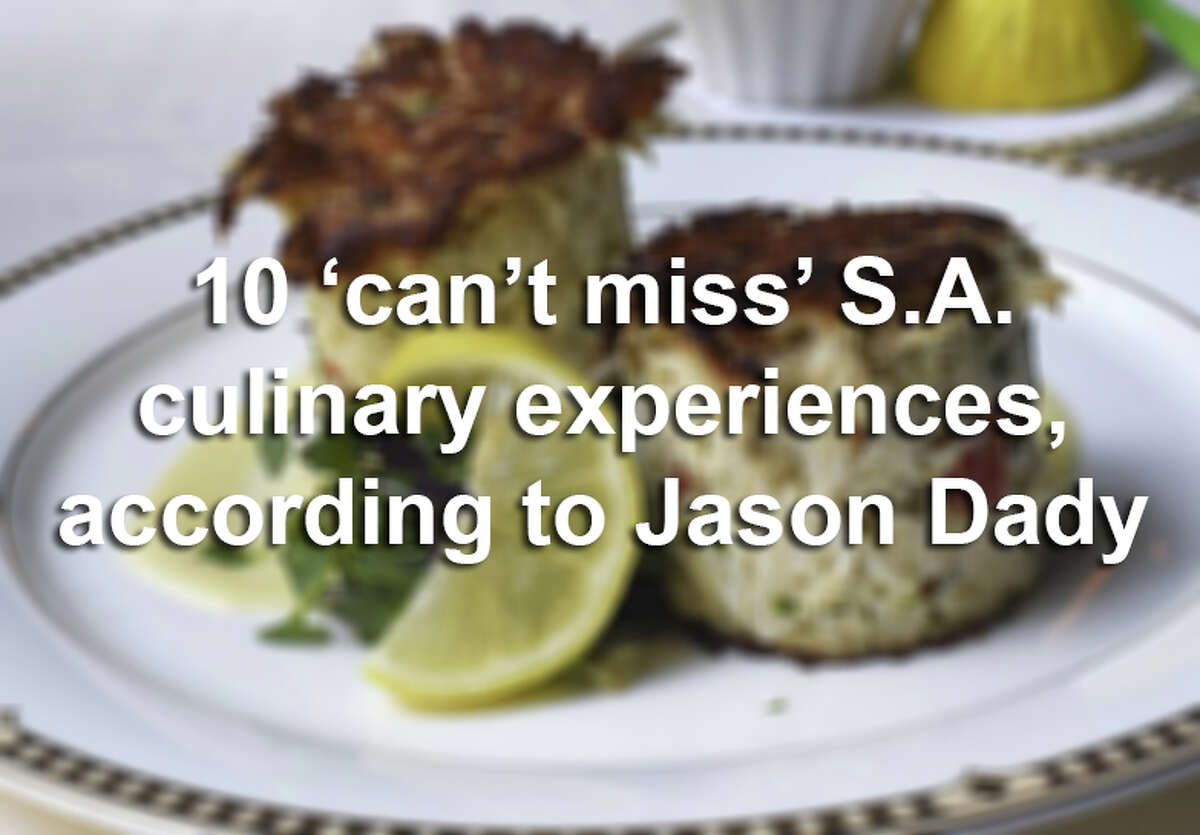 Whether you're enjoying a date night, indulging your sweet tooth or looking for a greasy hangover cure, San Antonio has no shortage of dining options. Click ahead to find out well-known chef Jason Dady's top 10 picks.