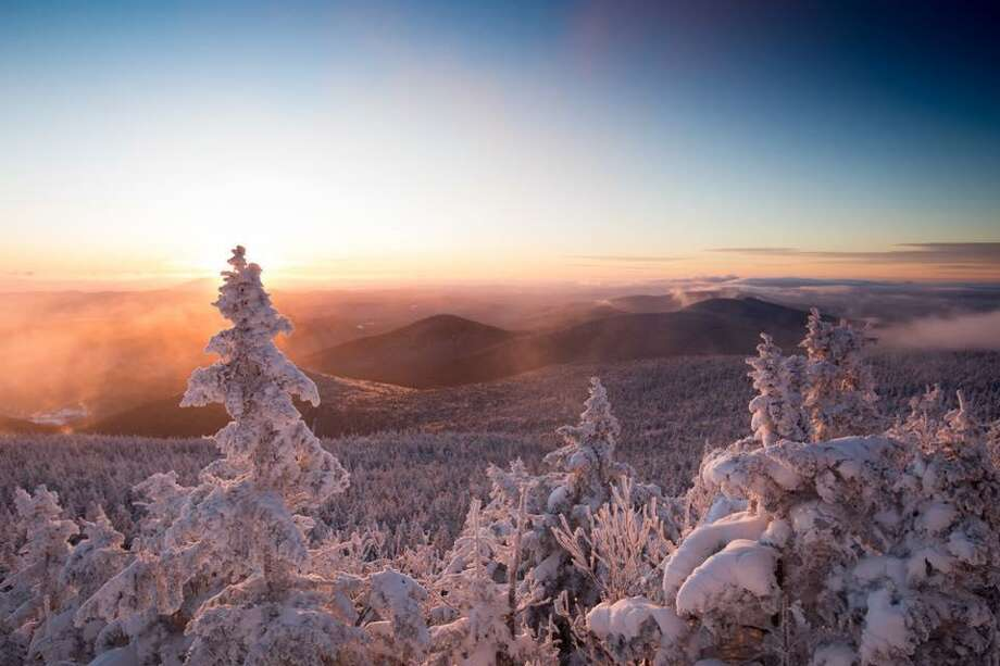 "Killington in Vermont posted this photo on its Facebook page on Sunday, Jan. 7, 2018. The day before it shut down operations because of bitter cold and strong winds. ""Things are the up and up this morning,"" it posted ""the temperature is a few degrees warmer and the wind has died down."" Jay Peak in Vermont and the Wildcat ski area in New Hampshire were also closed because of the severe weather. Photo: Killington Photo Via Facebook"