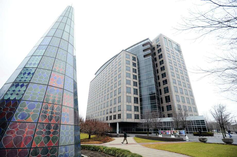 In two deals in 2017, Beverly Hills, Calif.-based AVG Partners acquired 677 Washington Blvd., in downtown Stamford, the site of the city's largest vacant office complex. Photo: Michael Cummo / Hearst Connecticut Media / Stamford Advocate