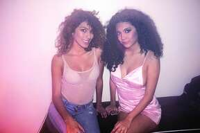 Elsa Guerra and Adriana Alcorta at Club Vibe  Friday, January 12, 2018