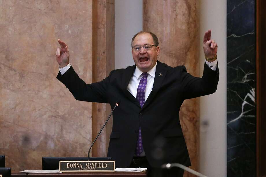 Jeff Hoover, Republican speaker of Kentucky's House of Representatives, resigned his post following revelations that he had paid to keep a sexual harassment settlement secret. Photo: Michael Reaves, Associated Press
