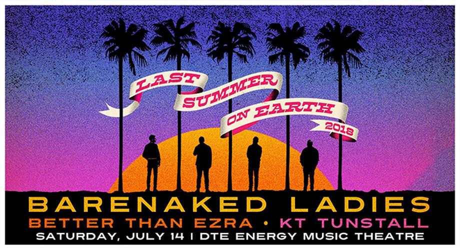 Barenaked Ladies @ DTE Energy Music Theatre, Clarkston, MI