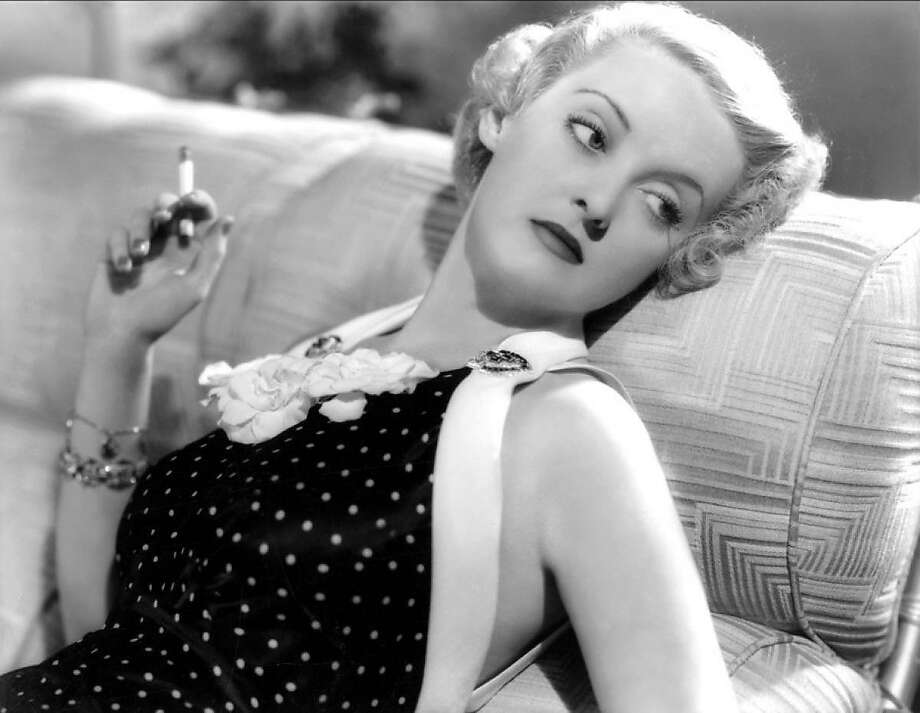 Bette Davis is at her best in her fiery, gutsy mode. Regretful doesn't suit her. Photo: Contributed Photo