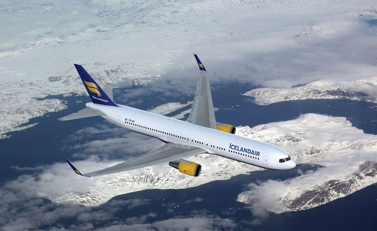 Boeing 767-300ER. Icelandair flies this widebody into San Francisco International
