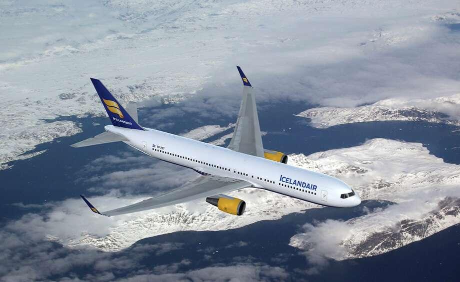 Boeing 767-300ER. Icelandair will fly into San Francisco International with seasonal service to Rekjavik starting June 1, 2018 Photo: Icelandair