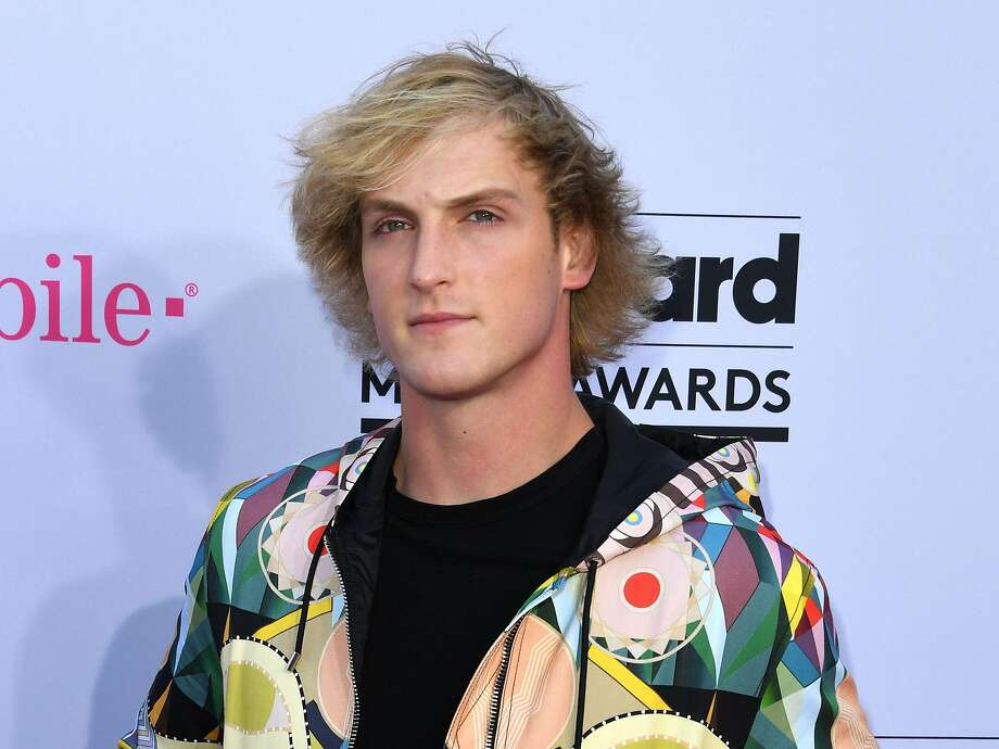 "This file photo taken on May 21, 2017 shows actor Logan Paul arriving at the 2017 Billboard Music Awards at the T-Mobile Arena in Las Vegas, Nevada. Actor and YouTube celebrity Logan Paul apologized for posting a video of a suicide victim in Japan that reportedly was viewed by six million people before being deleted. Paul, who gained notoriety on social media and has a popular video blog or ""vlog"" on YouTube, filmed the video in Aokigahara, which is known as ""the Japanese Suicide Forest"" because of its reputation.  Photo: MARK RALSTON, AFP/Getty Images"