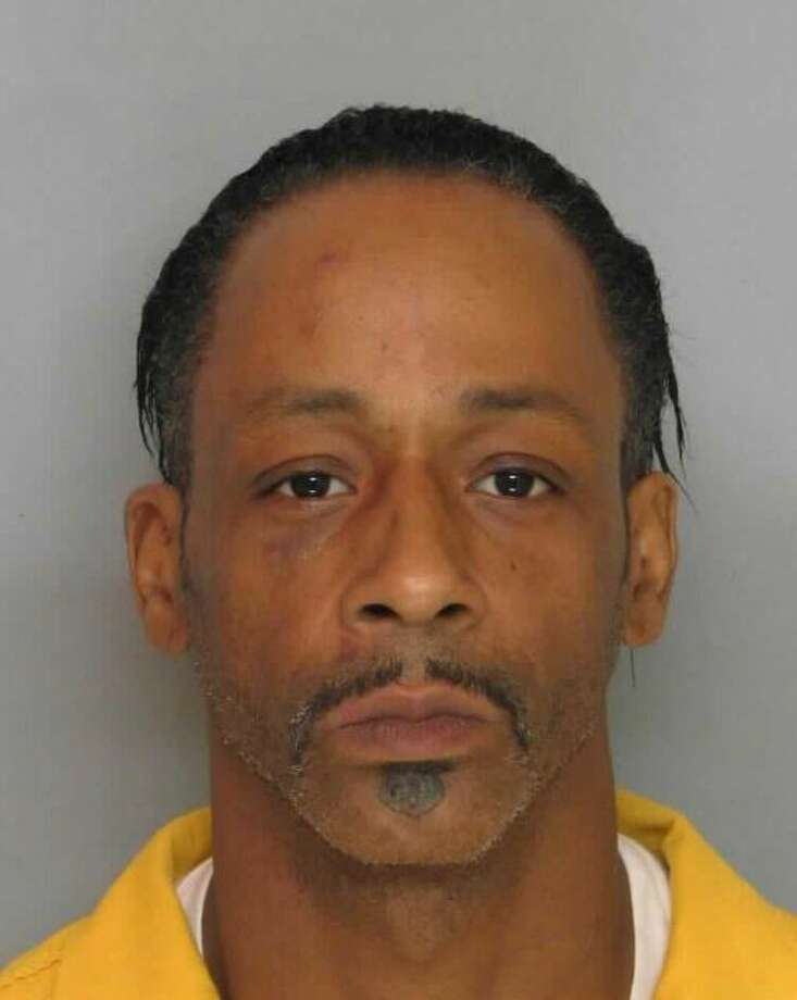 Comedian Katt Williams was arrested in March 2016 on charges of terroristic threats, false imprisonment and aggravated assault. Police said he threatened his bodyguard and beat him with a baseball bat.  Photo: Katt Williams