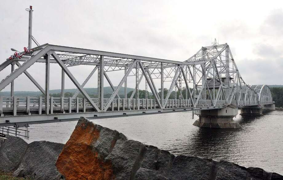 The East Haddam Swing Bridge spans the Connecticut River between Haddam and East Haddam. Photo: File Photo / TheMiddletownPress