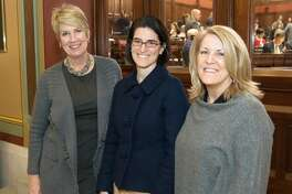 State Reps. Laura Devlin, R-134, Cristin McCarthy Vahey, D-133, and Brenda Kupchick, D-132, have joined the legislature's newly formed bi-partisan Fire and EMS Caucus.