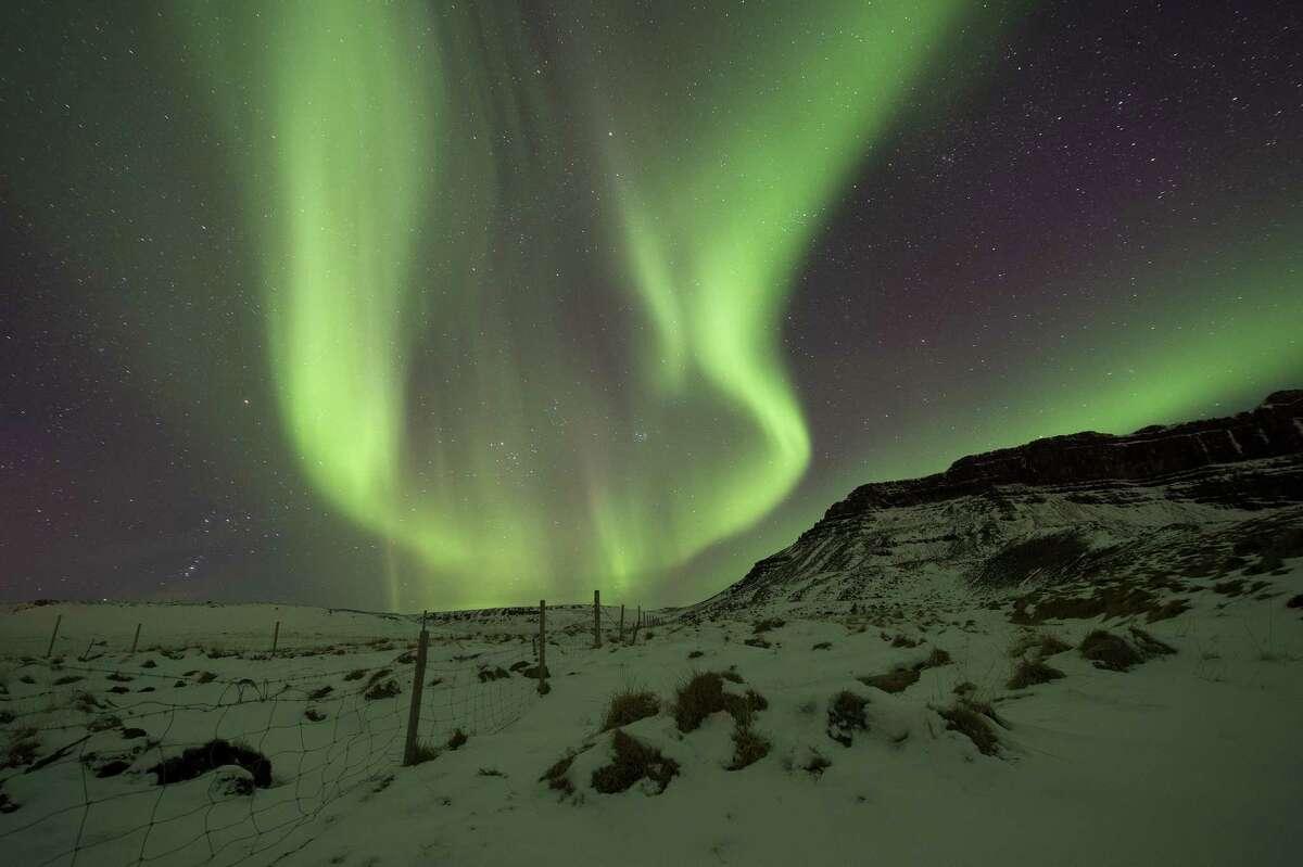 Reykjavik, IcelandAttractions: Northern Lights, Blue LagoonSource: Kayak