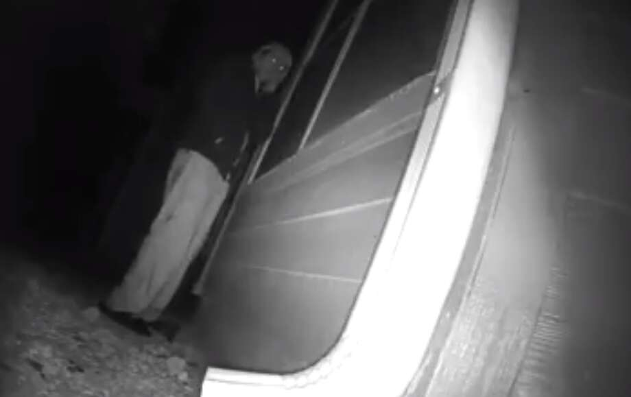 A San Antonio woman said this man has been watching her through her windows for the past three weeks in the 12200 block of Vance Jackson Road.