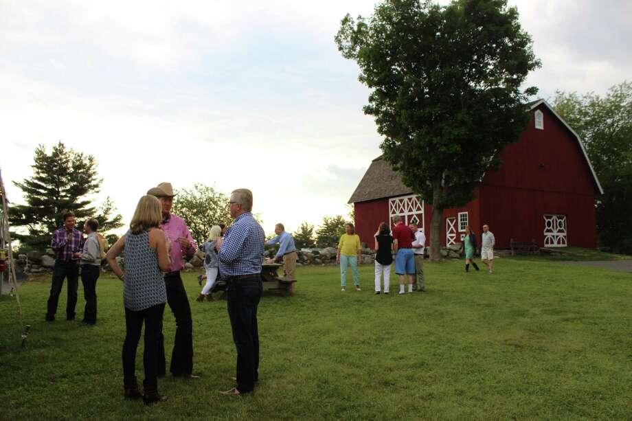 Ambler Farm's second annual Sunset Hoedown on Saturday, June 10, 2017. Photo: Stephanie Kim / Hearst Connecticut Media