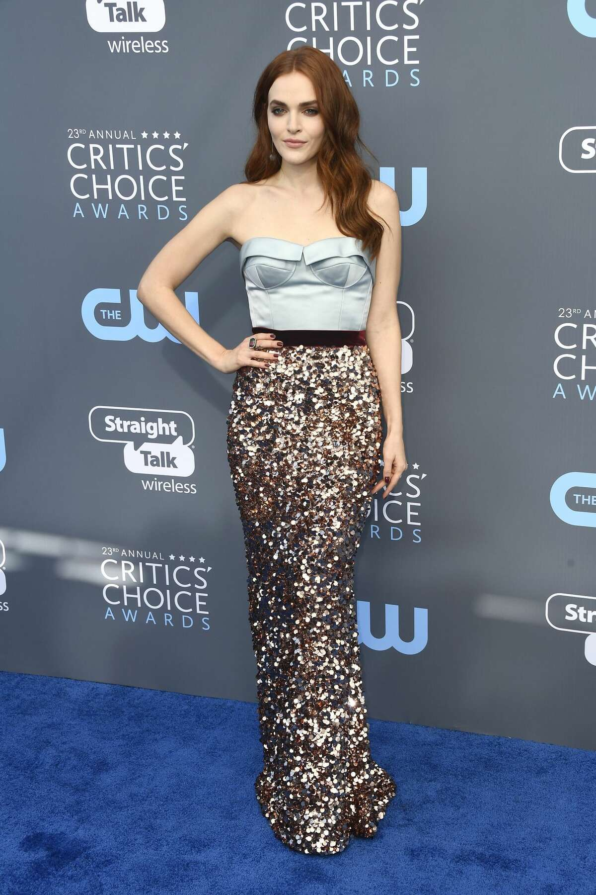 Best:Madeline Brewer's eye catching look is a winning one- way to be different!