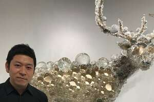 "Kohei Nawa and ""PixCell-Maral Deer"" at SF FOG Design + Art."