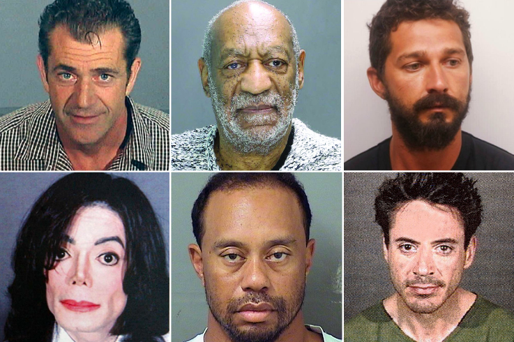 The Good The Bad And The Ugly Of Celebrity Mugshots