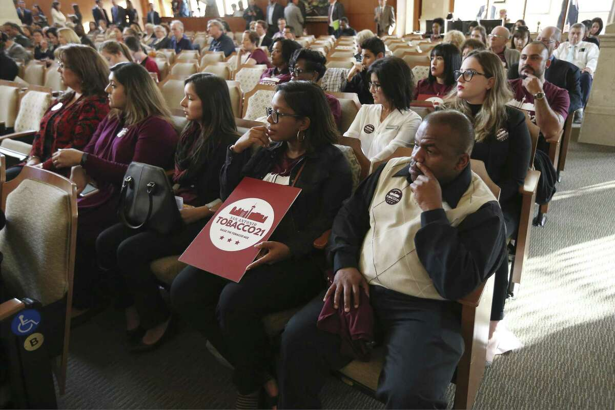 Supporters of the tobacco sales ordinance known as