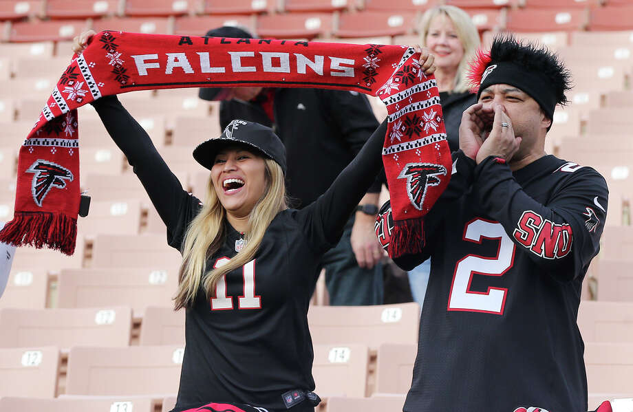 Will the fans of the Falcons still be cheering for their team three weeks from now? Atlanta can make it back to the Super Bowl without having to play any teams that were in the playoffs last season when the Falcons advanced to Super Bowl LI at NRG Stadium. Photo: Curtis Compton, MBR / Atlanta Journal-Constitution