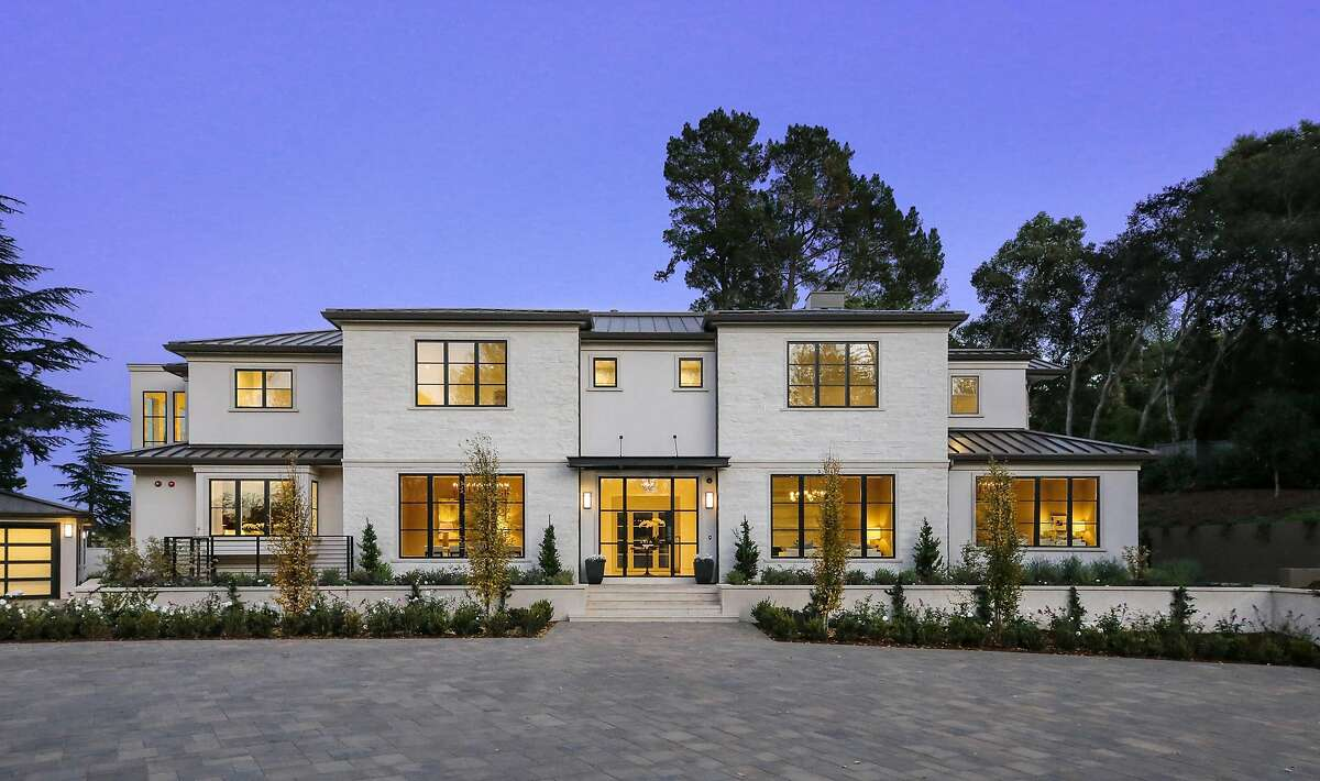 The home sits on the west side of Atherton, and the main residence hosts seven bedroom suites.