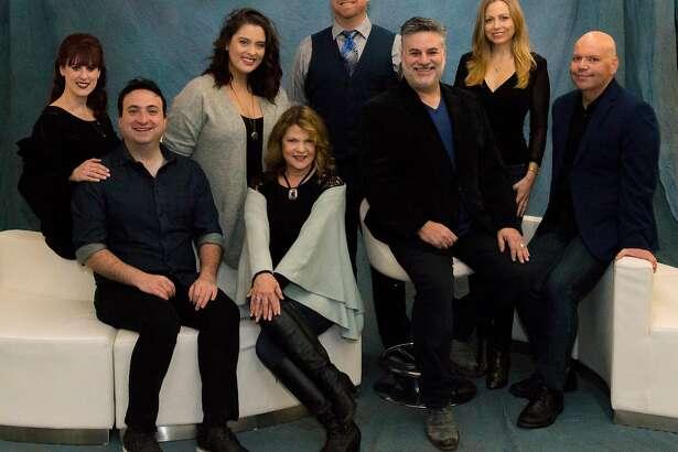 "The cast of ""Sondheim on Sondheim"" at�3Below Theaters & Lounge."