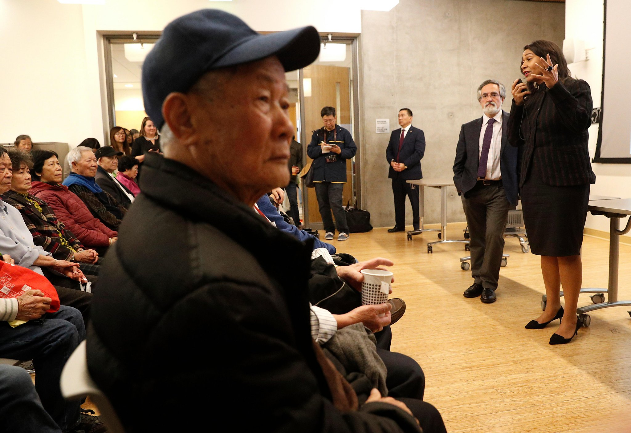 Breed proposes renaming SF\'s Portsmouth Square after Ed Lee - SFGate