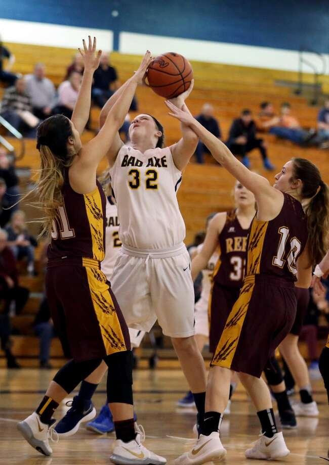 Reese at Bad Axe — Girls Basketball 2018 Photo: Paul P. Adams/Huron Daily Tribune