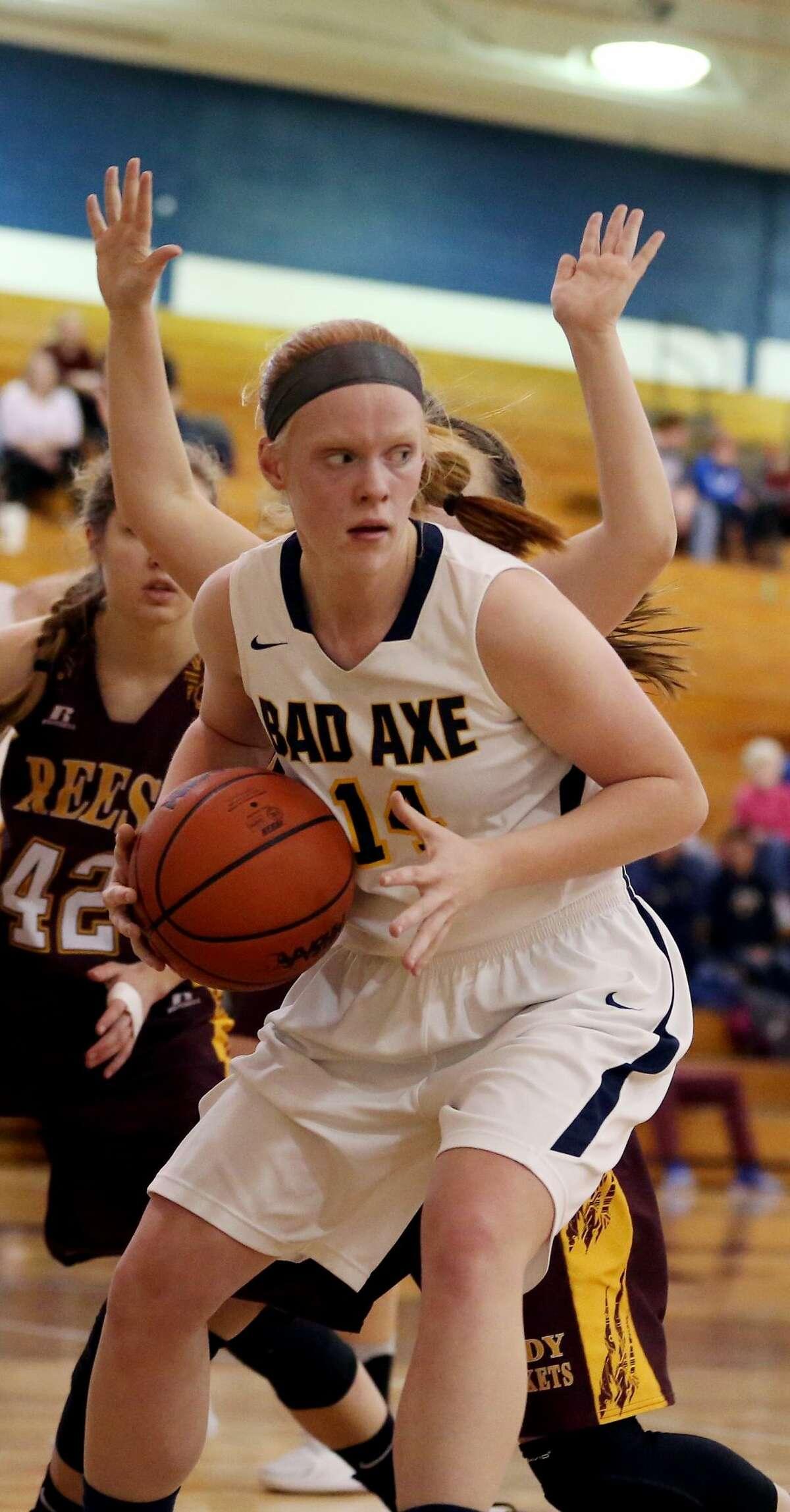 Reese at Bad Axe - Girls Basketball 2018