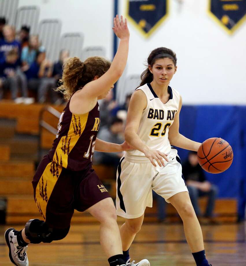 Reese at Bad Axe — Girls Basketball 2018 Photo: Paul P. Adams/Huron Daily Tribune
